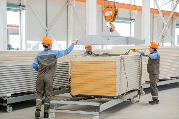Sandwich panel công nghệ cao - Vật liệu tối ưu cho công trình kho lạnh