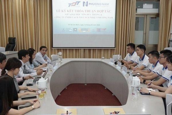 Công ty TNHH Cách âm Cách nhiệt Phương Nam hợp tác cùng Đại học Tôn Đức Thắng