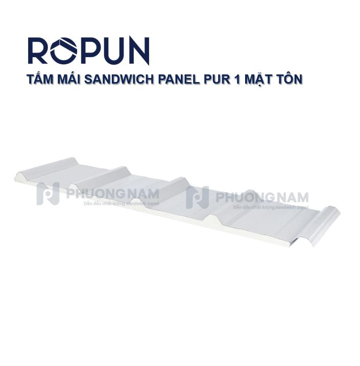 ROPUN - TẤM MÁI SANDWICH PANEL PUR