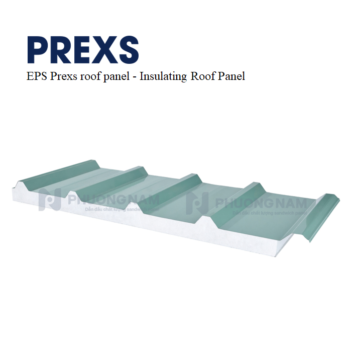 EPS Prexs Roof Panel - Insulating Roof Panel