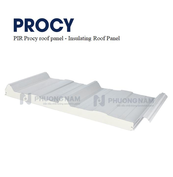 Mái Panel PIR Procy - Mái Tôn Cách Nhiệt