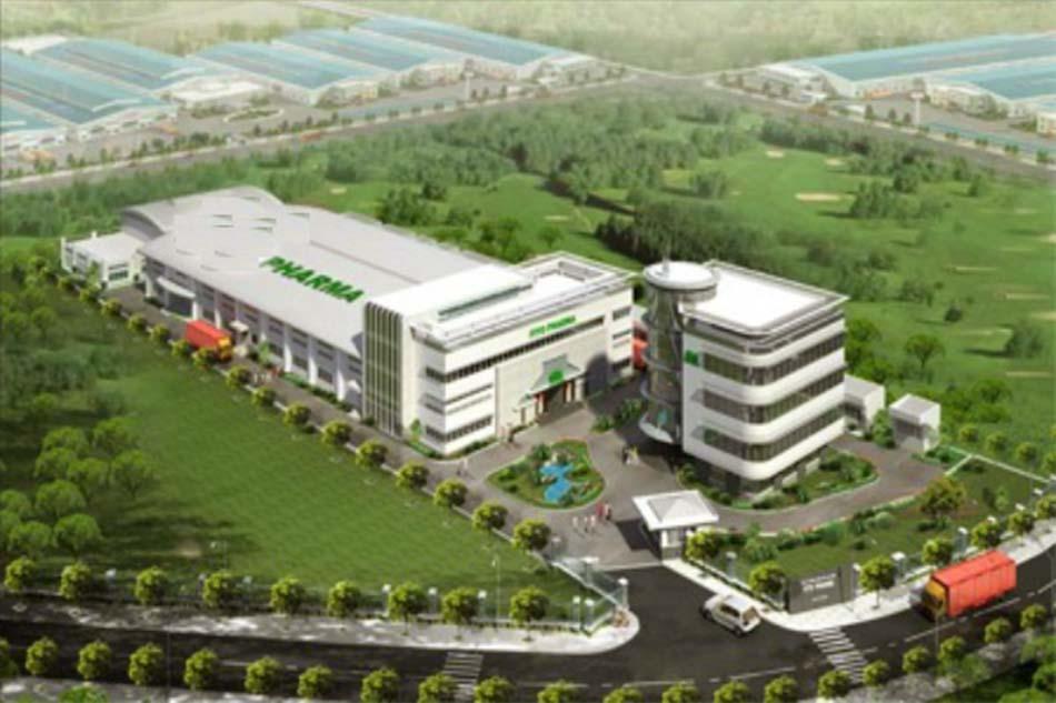 Nhà máy dược phẩm BV Pharma