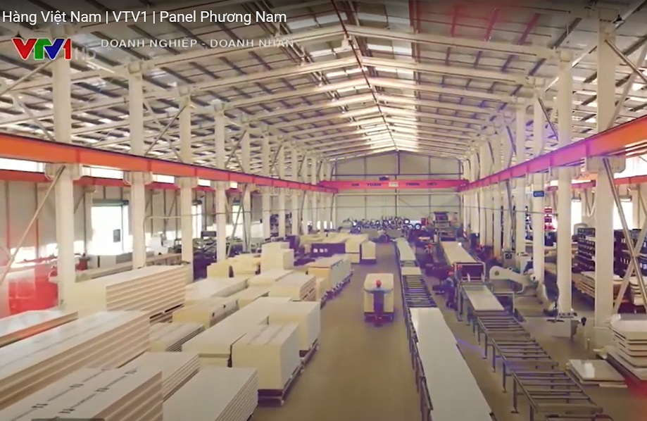 Sandwich Panel Phuong Nam - Proudly High Quality Vietnamese Goods (VTV1)