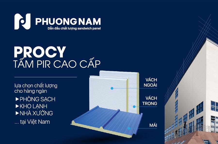 SANDWICH PANELPROCY High-grade PIR sheet -Fireproof. Insulation. Soundproof